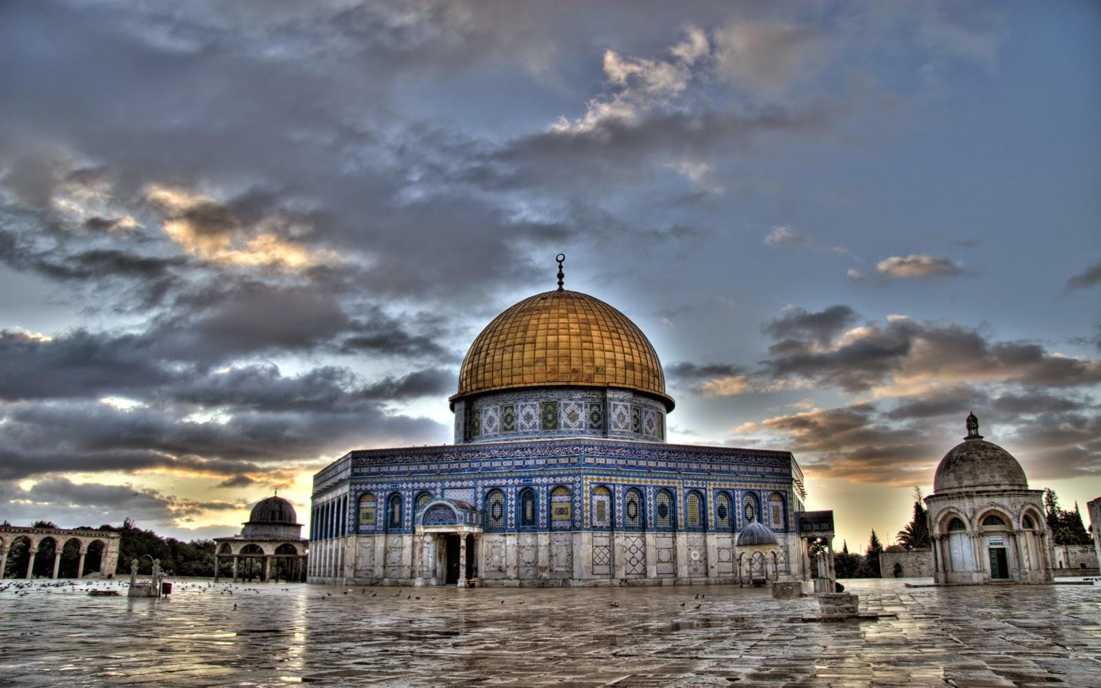 Miraç, Kudüs ve Mescid-i Aksa