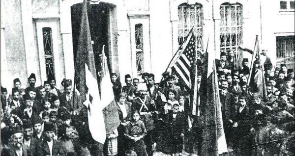 1916, Trabzon'u İşgal eden Rus Askeri İçinde Ermeniler