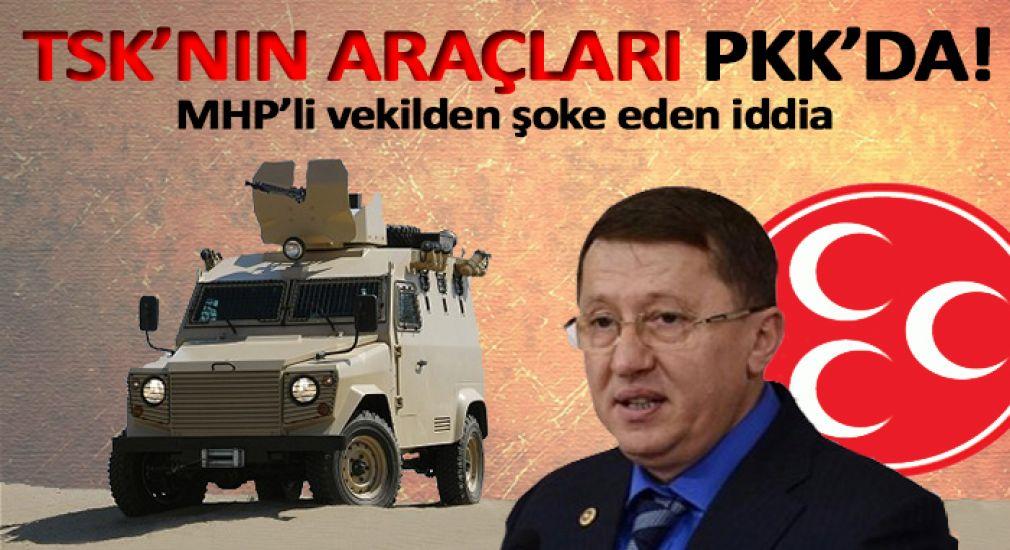 TSK zırlı araçları PKK hizmetine nasıl geçti?