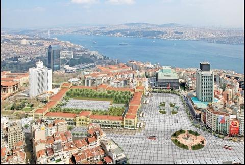 """Beyoğlu Kentsel Sit Alanı Koruma Amaçlı Uygulama Planı"""" ile 1/5000 ölçekli """"Beyoğlu Nazım İmar Planı iptal"""